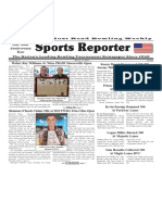 May 15 - 21, 2019  Sports Reporter