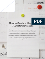 How to Create a Magnetic Marketing Message