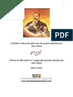 Orações e discursos para uso de grupos espíritas por Léon Denis