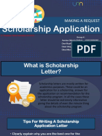 Scholarship Application - EDIT DEVI