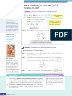 U1-SEC2-L6 Cómo Se Relacionan Las Fracciones Con Los Números Decimales