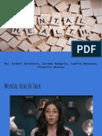 mental health presentation