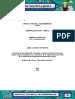 Evidencia 4 Informe Diagnóstico Ejecutivo