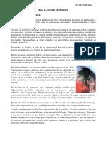 Leyenda El Pehuen y Comprension Lectora