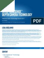 INTEL en RealSense Depth Camera Technology Review for Acquisition of 3D Data