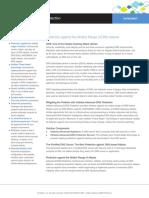 Infoblox Datasheet - Advanced DNS Protection