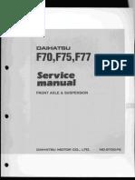 F70 F75 F77-FS-Front Axle and Suspension