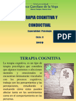 Teparatia cogniotiva Y CONDUCTUAL