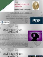 Enfoque sistemico en la sociolog_¢Ã_a