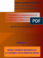 El Dominio Por Organización (D. MEZA)