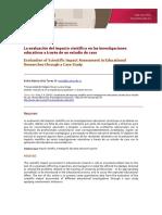 evaluacion del impacto cientifico.pdf