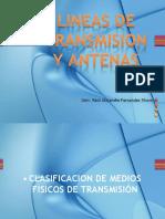 Lineas de transmisión y Antenas