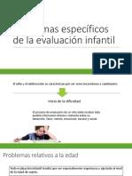 Problemas Específicos de La Evaluación Infantil