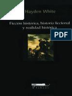 White Hayden - Ficcion Historica Historia Ficcional Y Realidad Historica.pdf