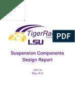 19 suspension components design report