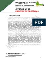 determinacion de proteina