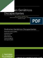 Síndromes Geriátricos Discapacitantes