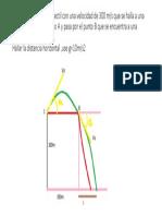 Desde C,se lanza un proyectil con una velocidad.pptx
