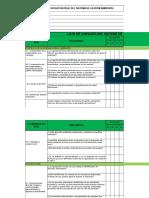 auto diagnostico ISO 14001