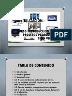 SENSIBILIZACION PROCESOS PEDAGOGICOS2017