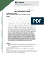 Dietary Priorities for Cardiovascular Disease,Nihms-741208