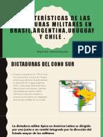 Originales 6J Características de Las Dictaduras