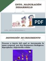 MANUAL DE CRECIMIENTO Y DESARROLLO ETAPA INFANTIL