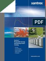 Xantrex - Renewable Energy and Backup Power Catalog