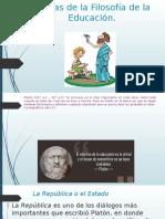 Teorías de La Filosofía de La Educación