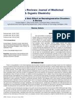 Tea Polyphenolics and Their Effect on Neurodegenerative Disordersa Review
