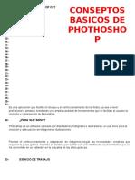 Conceptos Basico de Phothosop