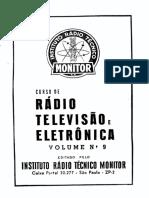 CURSO PRÁTICO DE RÁDIO, TELEVISÃO E ELETRÔNICA. Volume 9