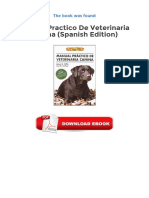 [PDF] Manual Practico de Veterinaria Canina Spanish Edition