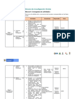 Bitácoras 3 y 4 Cronograma de Actividades y Presupuesto