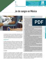 DONACION DE SANGRE EN MEXICO