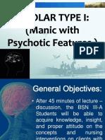 Bipolar Type i Presentation