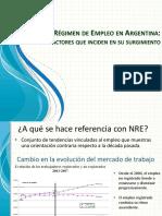 Nuevo Régimen de Empleo en Argentina c Agregados X