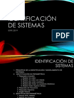 Identificacion de Sistemas