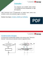 Unidad 2 Estructuras Algoritmicas Condicionales Simples