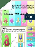 Atividades Escolares Volume 1encontro Vocalico