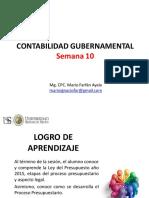 Sesión 10 Contabilidad Gubernamental