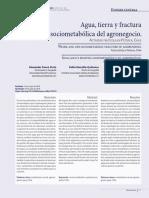 Alexander Panez, Pablo Mansilla & Andrés Moreira - Agua, tierra y fractura sociometabólica del agronegocio. Actividad frutícola en Petorca, Chile.pdf