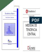 Cuadernillo 3 (Medidas de Tendencia Central)