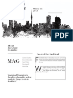 Auckland Magazine Media Kit 2019