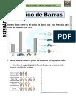 Ficha de Grafico de Barras Para Segundo de Primaria