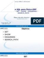Curso SQL - Unico - Aula18 - Set - Show - Esquemas - Search_Path