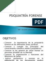 Psiquiatría Forense 1era Clase