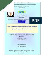 Etude d'Un Bâtiment Administratif en Charpente Métallique (ENTP 2006)