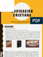 Edificación Cristiana oración
