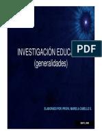 Investigacion Educativa 1